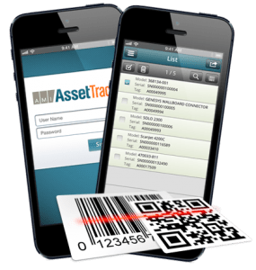 AssetTrack for the iOS phone