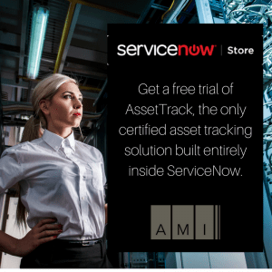 AssetTrack for ServiceNow free trial