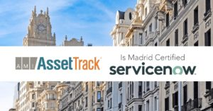 AssetTrack is Madrid Certified
