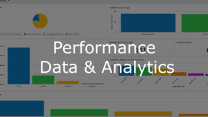 Performance data and analytics